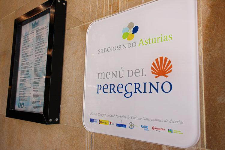 Menú del Peregrino Saboreando Asturias