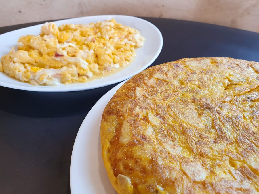 Tortilla y revuelto Hotel Montemar Llanes
